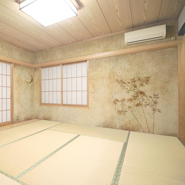 和室の壁紙 和モダン cool japan クールジャパン壁紙