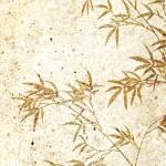 月 笹 竹の壁紙
