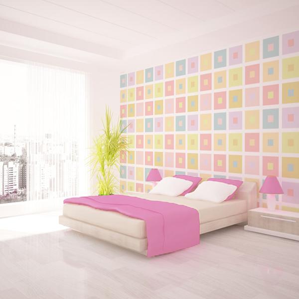 カラフルな壁紙