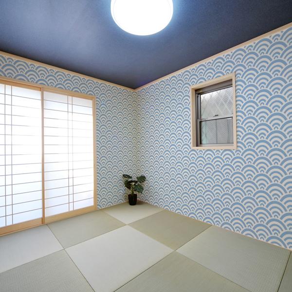 青海波の壁紙