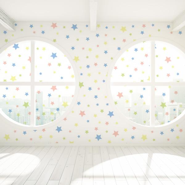 星柄の壁紙