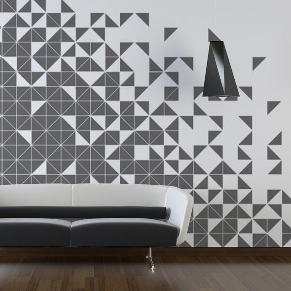 三角形の壁紙