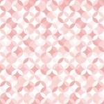 カラフルな七宝パターンのクロス