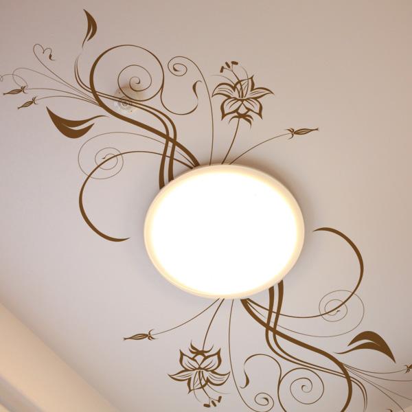天井の飾り付け