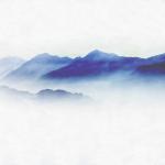 KJ-0032  霞の山脈