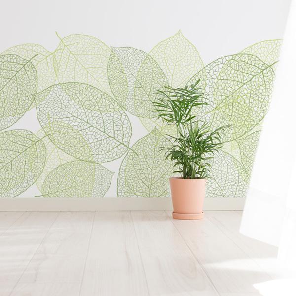葉脈のデザイン壁紙 リーフ