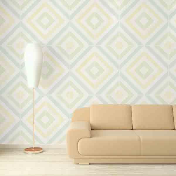 大きな抽象パターンの壁紙