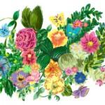 KN-0053  花咲く天井