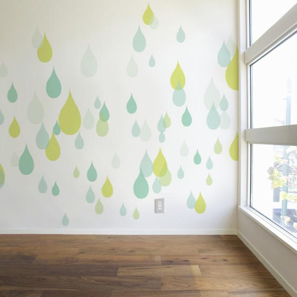 かわいい雨の壁紙