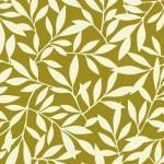 北欧風の葉っぱの壁紙緑
