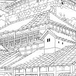 KL-0028    日本の町