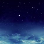 夜空と宇宙と月と星の壁紙