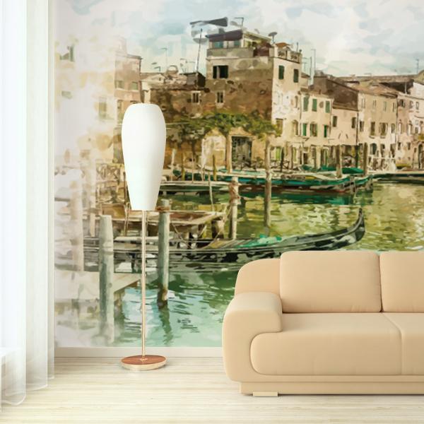 ヴェネツィアのイラストの壁紙