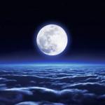 夜の雲海の壁紙