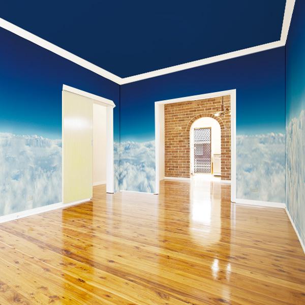 幻想的な雲海の壁紙