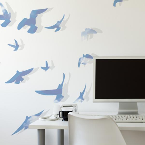 空の鳥の壁紙