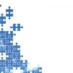空のパズルの壁紙