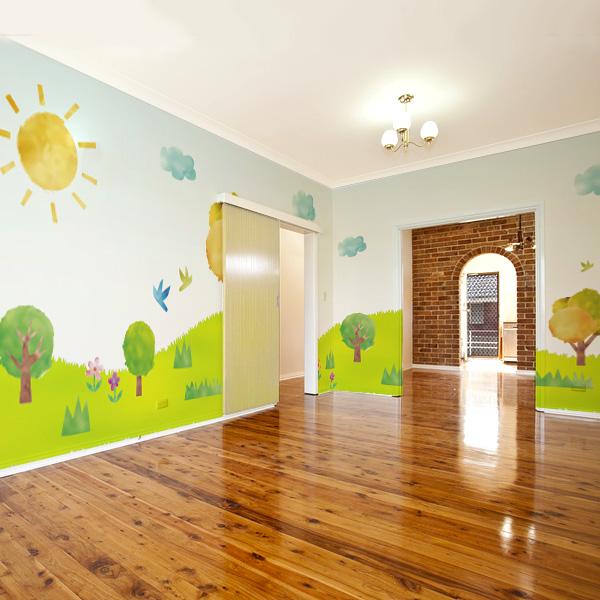 幼稚園の壁紙 幼児コーナー