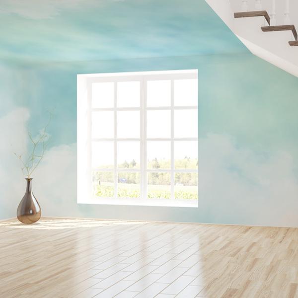 優しい雲の壁紙