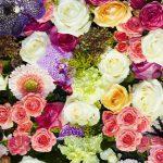 綺麗な花の壁紙クロス
