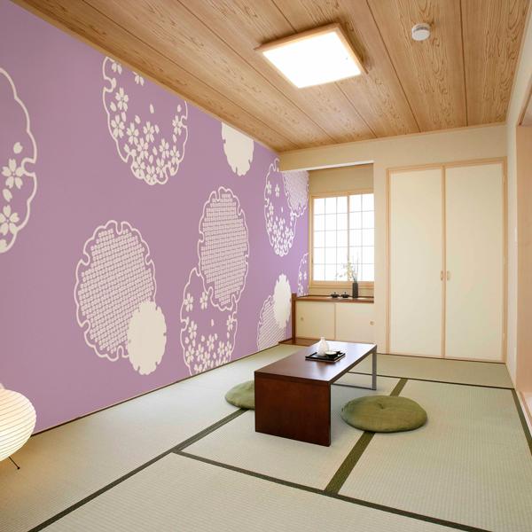 和風な桜の壁紙