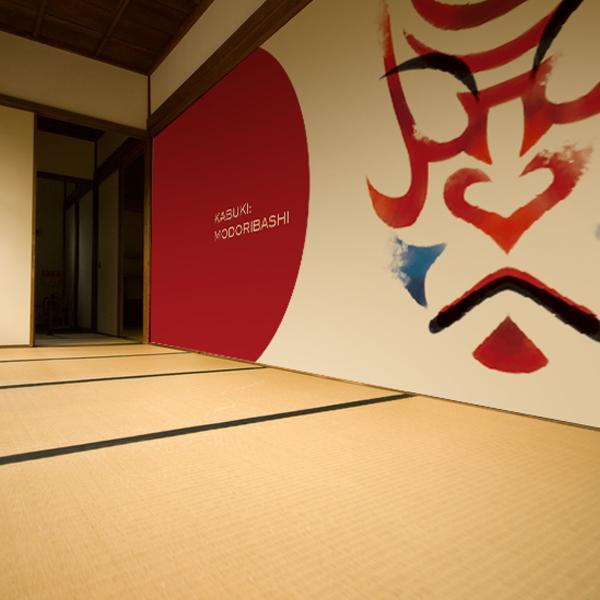 歌舞伎をモチーフにした壁紙