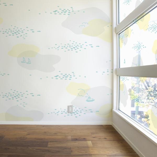 優しい海の情景を描いた壁紙
