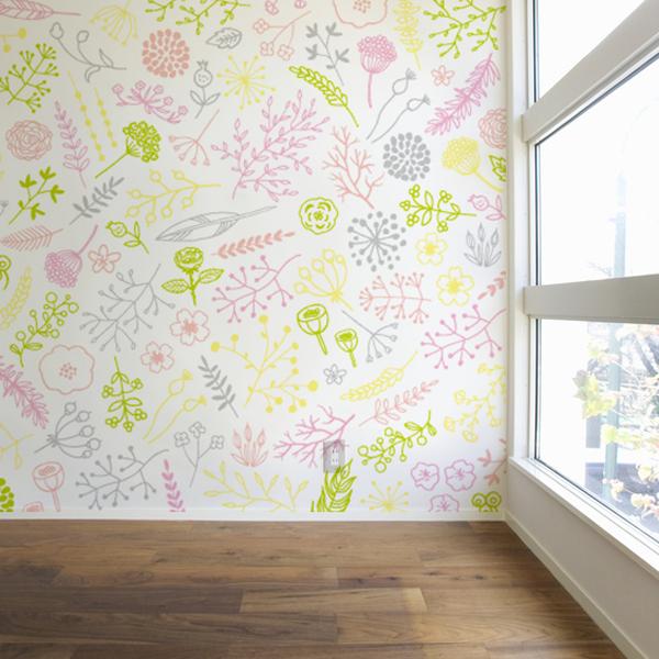 ポップな植物の壁紙