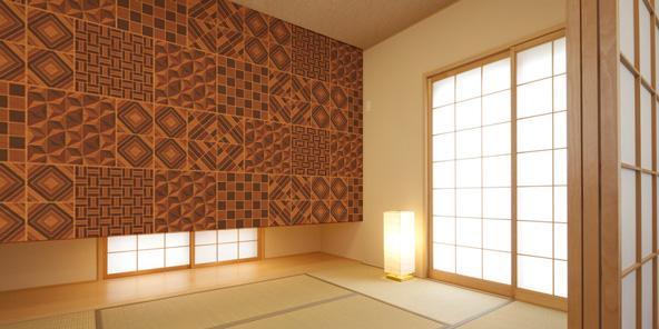 寄木細工イメージの壁紙