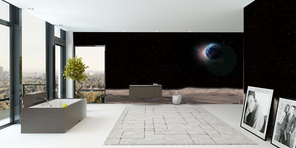 月面の壁紙
