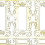 装飾の壁紙