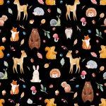 水彩の動物の壁紙