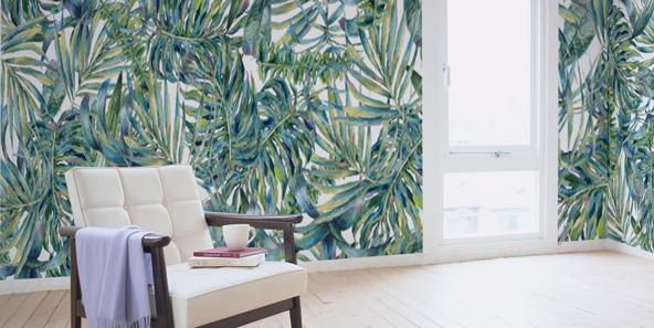 熱帯の葉っぱの壁紙
