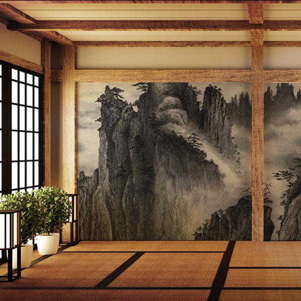 水墨画の壁紙