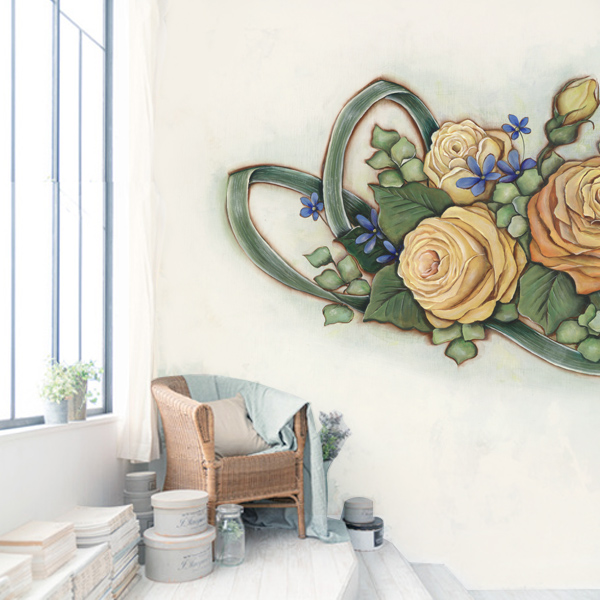 薔薇の壁紙