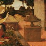 受胎告知,レオナルド・ダ・ヴィンチ,ダビンチ,有名な絵画,世界で有名な絵画,壁紙