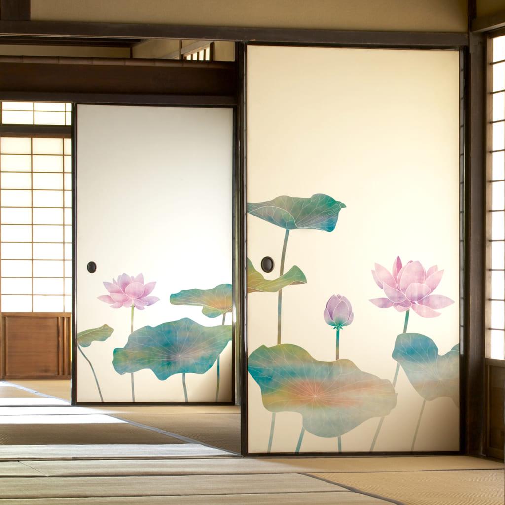 蓮,花,襖